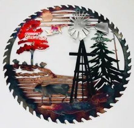 Windmill w/Buck Sawblade