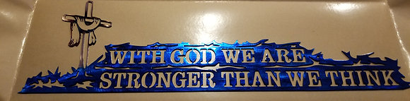 """""""With God"""""""
