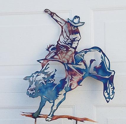 Bull rider (custom work)