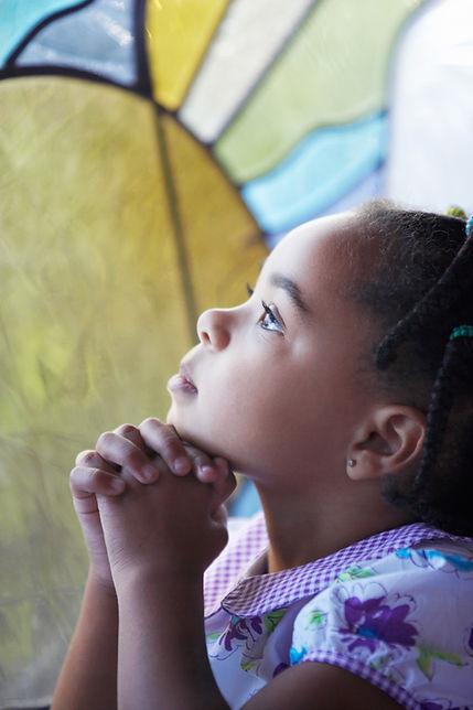 Girl Praying