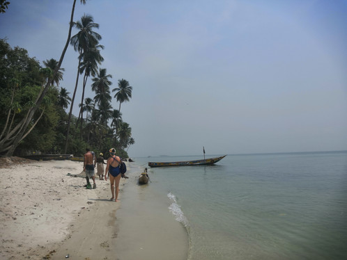Explore by walking around Sei island