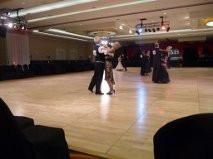 Robert Falls will be giving ballroom dance lessons in place of  tennis clinics... mah jong to follow
