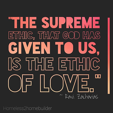 supreme ethic ravi zacharias homeless2ho