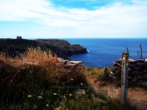 Tintagel coast path