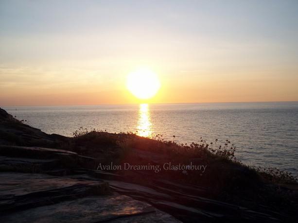 Boscastle Harbour sunset