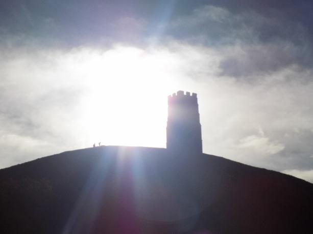 Glastonbury Tor in November