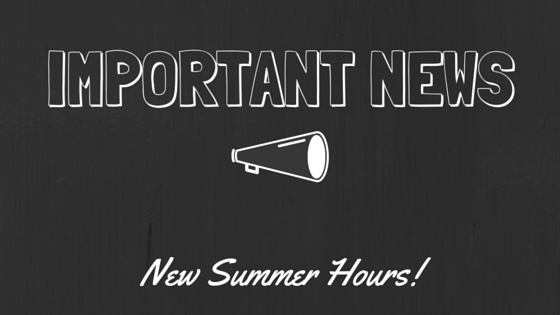 Zio is Closed on Sunday's for the Summer Season