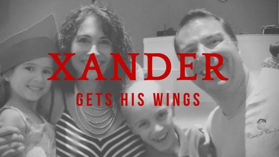 Xander Get His Angel Wings