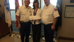 USO Donation at the Charlotte International Airport