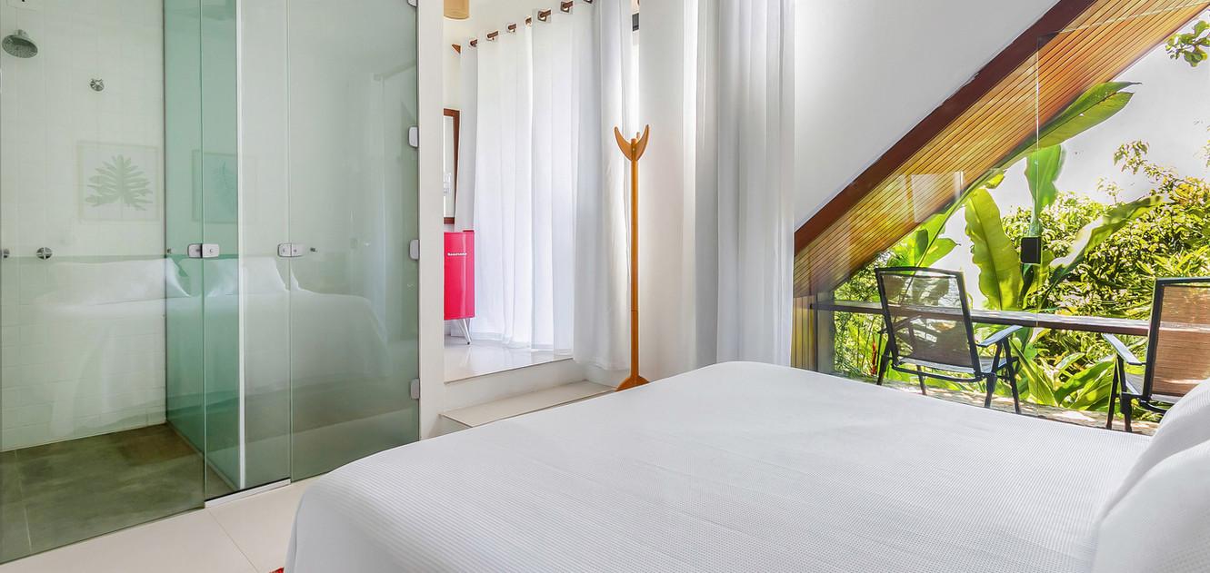 Visão cama Bamboo