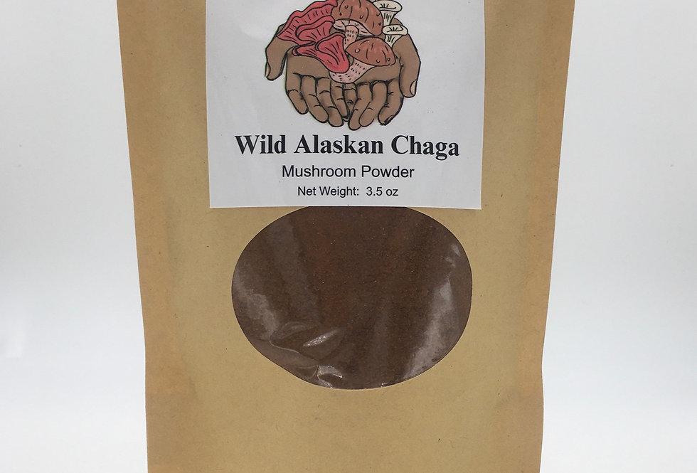 Wild Alaskan Chaga Mushroom Powder