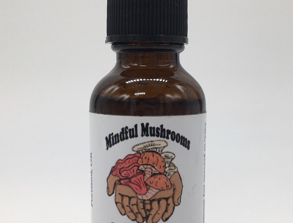 Lion's Mane Dual Extract Tincture
