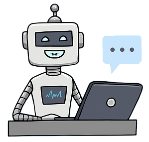 chatbot-concept-background-with-happy-ro