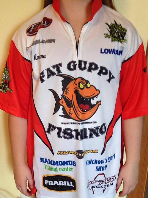 YOUTH/BOYS - Fat Guppy Fishing Jersey