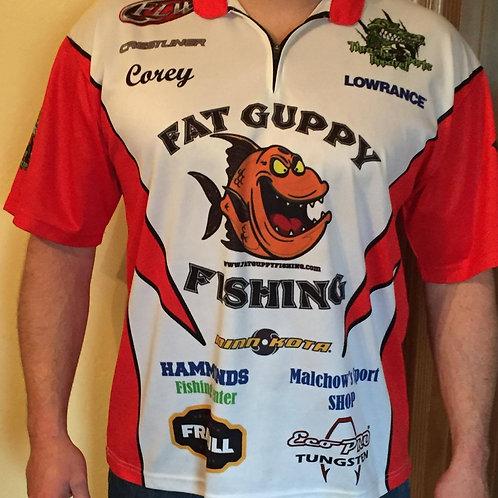 Mens - Fat Guppy Fishing Jersey
