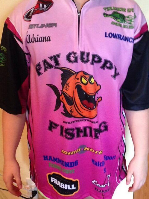 YOUTH/GIRLS - Fat Guppy Fishing Jersey
