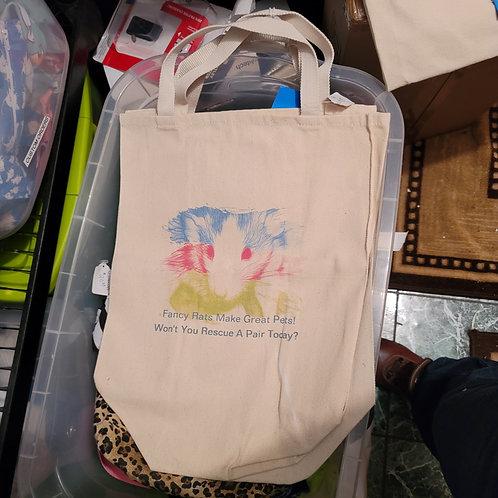 Artsy Rat Design Grocery Shopping Bag