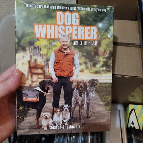 Dog Whisperer - Seasons 1 thru 4 Complete DVDs