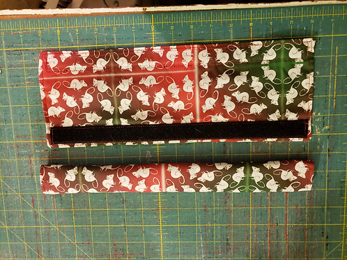 Shopping Cart Handle Cover w/Rattie Fabric