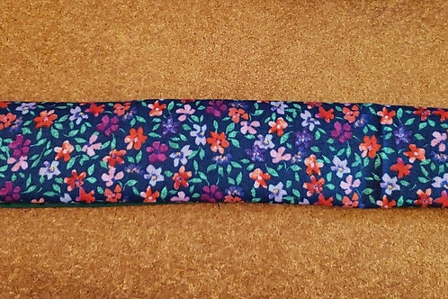 Shopping Cart Handle Cover w/Flower Fabric