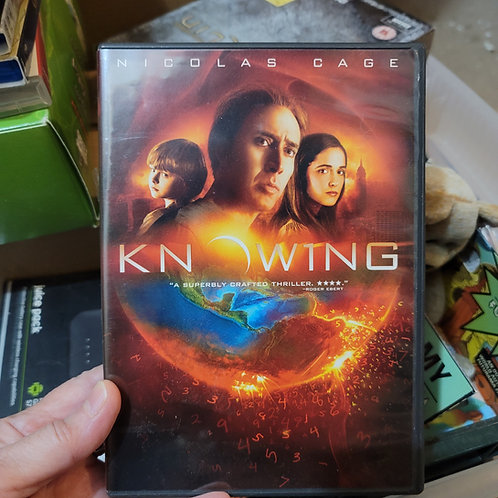 Knowing DVD - Used