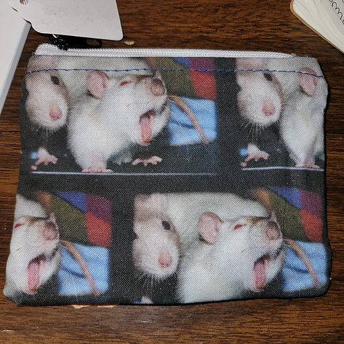 RFIDSFyawn - Zipper Pouch with RFID liner to protect credit card info