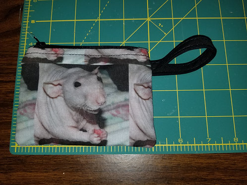 RFIDSF1100 - Zipper Pouch with RFID liner to protect credit card info