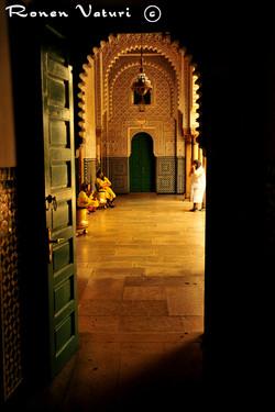 מרוקו - קזבלנקה, מסדרון בארמון המלך