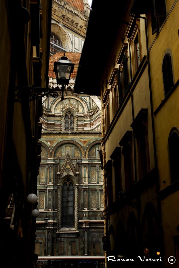 איטליה - פירנצה רחוב לדואומו