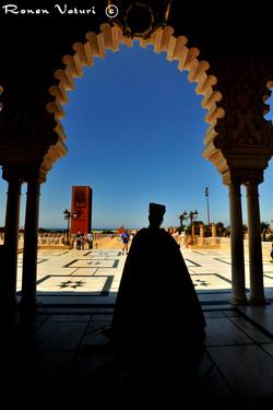 מרוקו - רבט - כניסה לקבר המלך