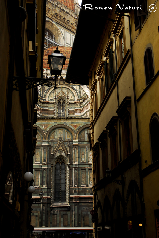 איטליה - פירנצה - רחוב לדואומו