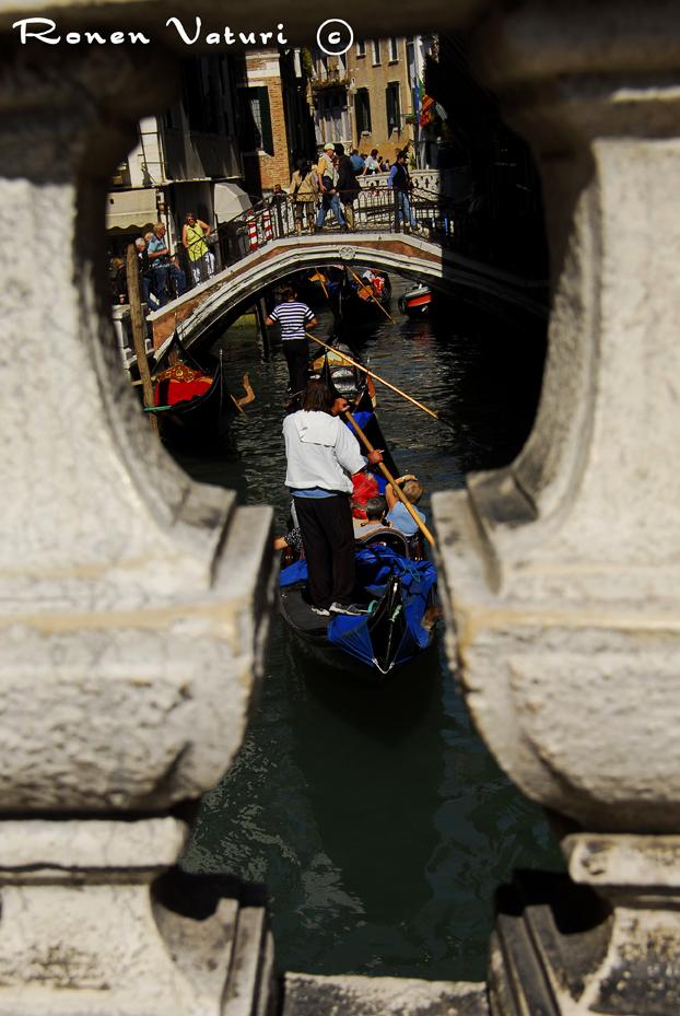 איטליה - ונציה - גנדולה