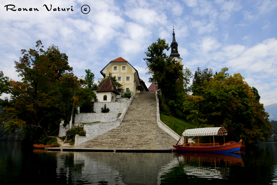 סלובניה - אגם בלד