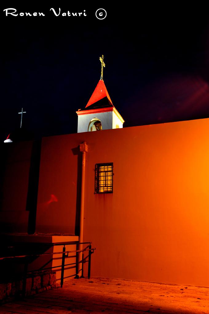 עכו גג הכנסיה