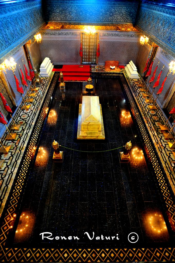 מרוקו - רבט - קבר של המלך