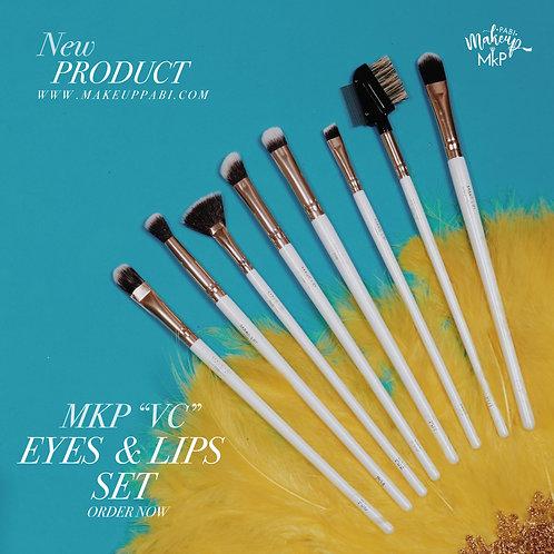"""MKP """"VC"""" Eyes & Lips Brush Set"""