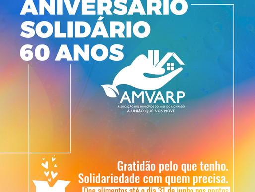 Celebração solidária dos 60 anos da Amvarp destaca a importância da doação de alimentos