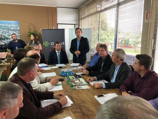 Assembleia da Amvarp debate videomonitoramento e cercamento eletrônico dos municípios