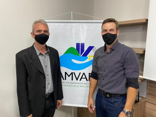 Maiquel Silva assume a presidência da Amvarp