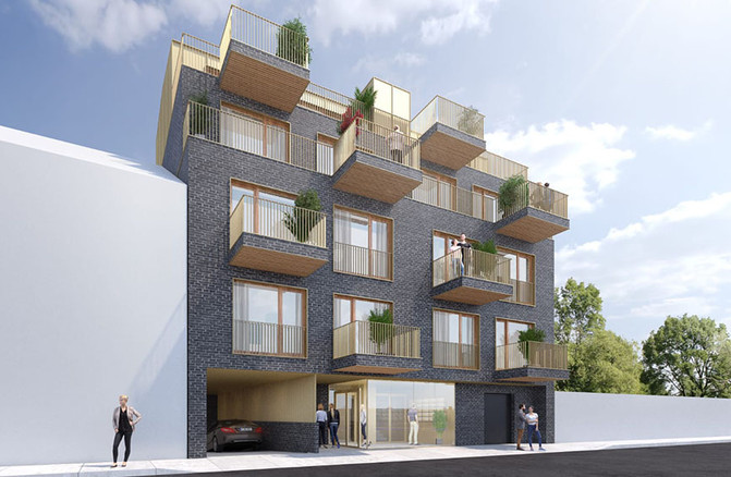 Wohnhaus Himberg - Frontansicht