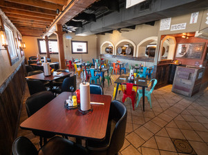 Dining area at DEW North Grand in Springfield IL