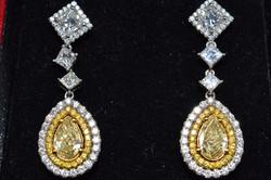 Yellow Stone Earring Appraisal