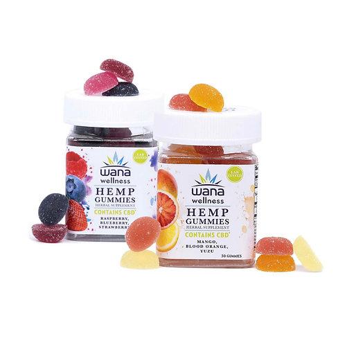 Wana Wellness CBD Gummies