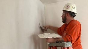 Plasterer Apprentices At Work