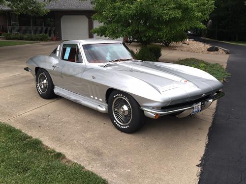 Stingray Corvette Appraisal