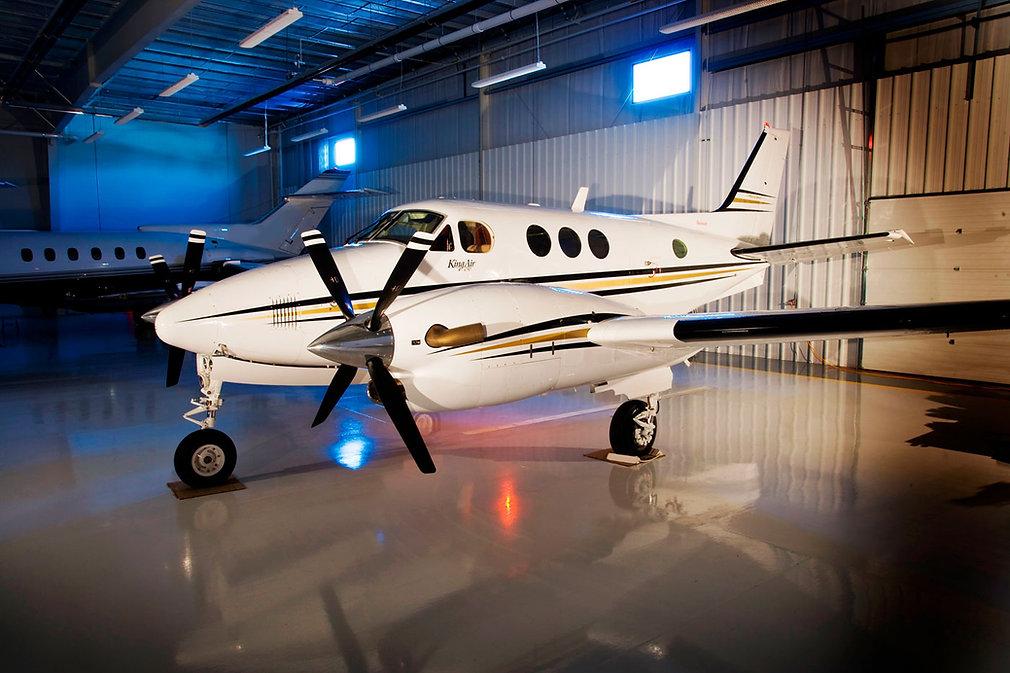 Industrial-Application---Airplane-Hangar