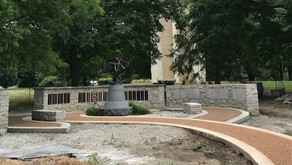 Local 18 Helps w/ Angel of Hope Statue in Washington Park
