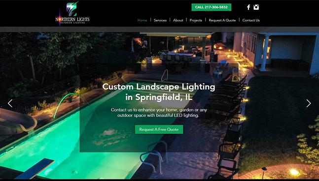 Northern Lights Website Design