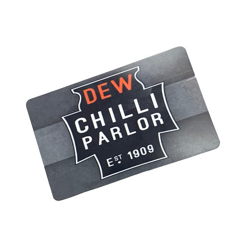 DEW Gift Card