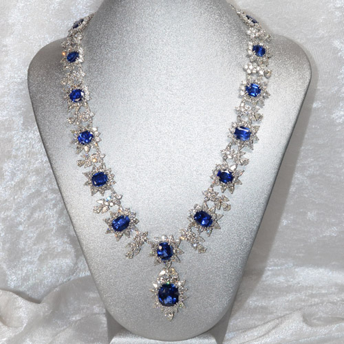 Blue Stone Necklace Appraisal